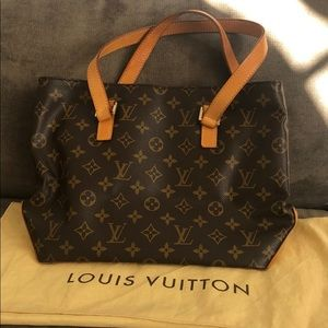 Lightly Used Monogram Louis Vuitton Handbag